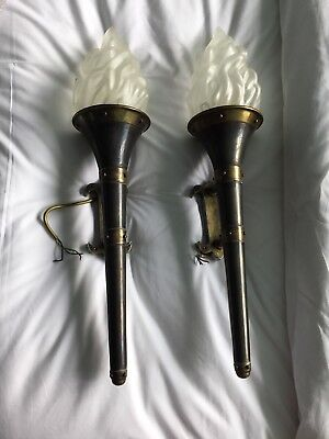 Very Large Torchere Wall Lights