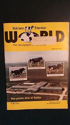 Holstein World 1978 Curtiss Breeding Service Story + 1977 All-Canadian Awards