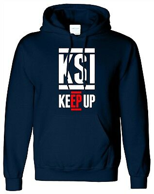 Ksi Keep Up Hoody Youtuber Army Fifa Gaming Hoody Adults And Kids