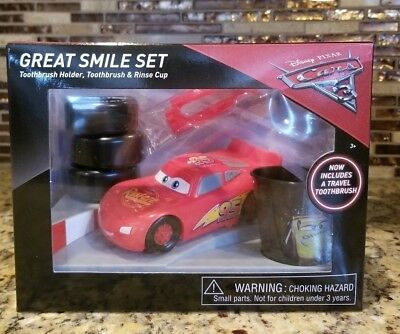 Brand New Disney Pixar Cars Sparkling Smile Set