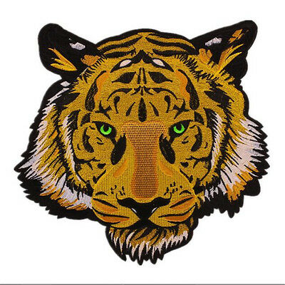 Large Tiger Embroidery Sew Iron On Patch Badge Bag Jeans Applique Craft DIY