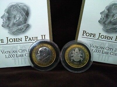 POPE JOHN PAUL II  -  VATICAN CITY Commemorative COIN  -