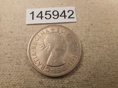 1960 Great Britain Two Shillings High Grade Nice Collector Grade Coin - # 145942