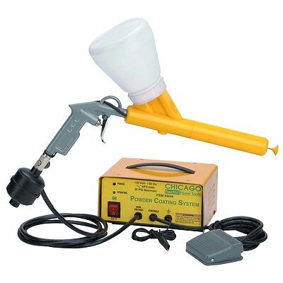 Complete Powder Coating System Paint Gun Coat Kit *new*