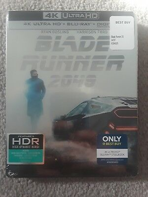 Blade Runner 2049 (DVD, SteelBook 4K Ultra HD Blu-ray/Blu-ray Only at Best Buy)
