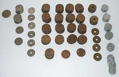 4,896 Japanese Yen Exchange Lot Foreign Coins Money Currency