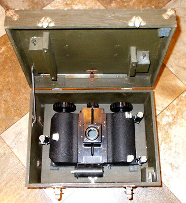 Wwii U.s. Army Air Forces Astrograph Type A-1 With Wood Box & Few Accessories