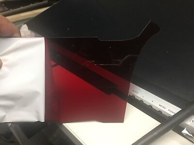 3mm clear acrylic sheet(red)