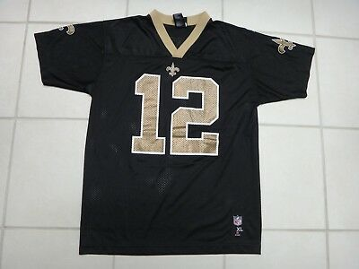 25801e74c New Orleans Saints Marques Colston Football  12 Jersey~Nfl Team Apparel~ Youth Xl