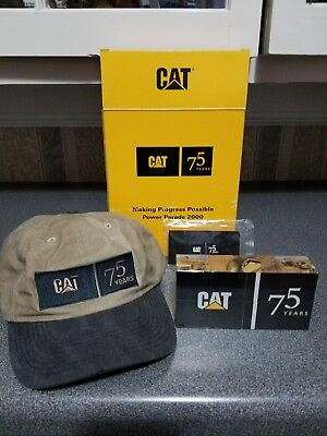 """CAT 75 Years Collectors Hat """"New"""""""