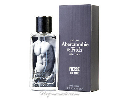 Abercrombie & Fitch Fierce Cologne 3.4 oz / 100 ml Brand New Sealed
