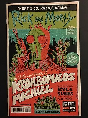 Rick and Morty #34 B Variant First Print Oni Press Krombopulos Michael NM