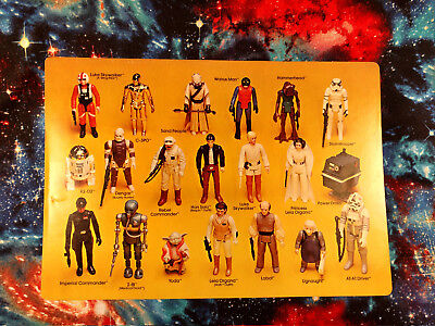 Choose Your Own Vintage STAR WARS Action Figures ANH ESB ROTJ Not Exact Figure