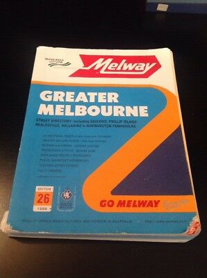 Vintage Greater Melbourne Edition 26 Melway