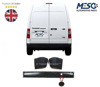 Brand New O.e. Ford Transit Connect Mki Rear Bumper With End Caps 2002-2013