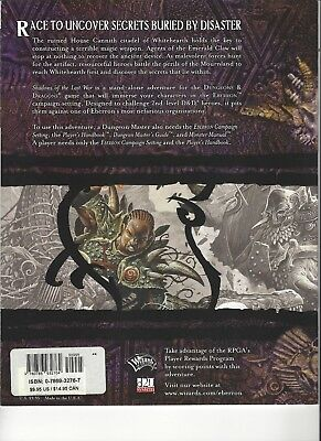 Shadows of the Last War (Dungeon & Dragons d20 3.5 Fantasy Roleplaying, Eberron Adventure)