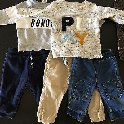 Baby Boy Clothes bulk lot Size 00 3-6 Months Seed, H&M, Bonds