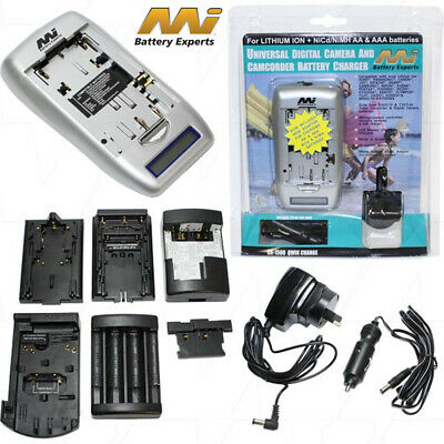 Camcorder/Digital Camera battery pack charger With Adaptor plates&Power supplies