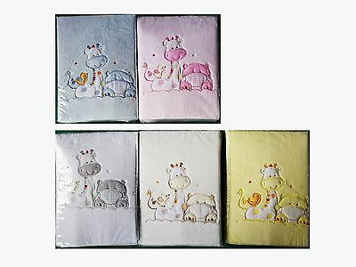 [50%OFF] Microfibre Baby Cot Blanket - Teddy Bear