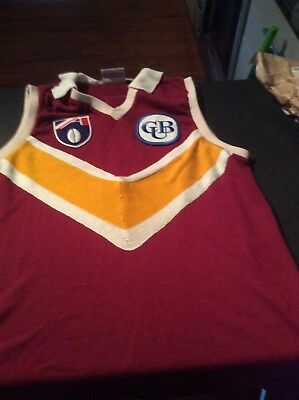Brisbane Bears original Player issued and worn jumper