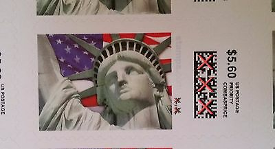 Priority Mail Postage 24 pieces $5.60 Stamps, face value $134.40
