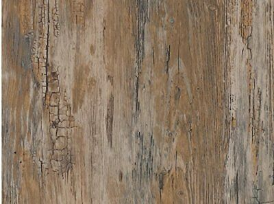 Wood Contact Paper Self Adhesive Film Wallpaper Peel Stick Wall Cover Home Decor