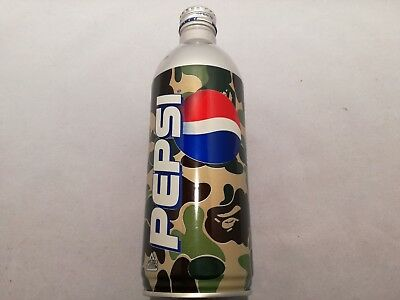 Bape Pepsi Cans Set Of Three[OPENED] Camo 2001 Very Limited, Japanese Import