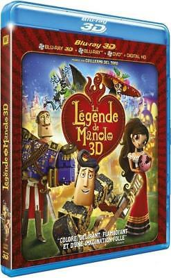 Blu Ray 3D + 2D + DVD : La légende de Manolo 3D + Version 2D - NEUF