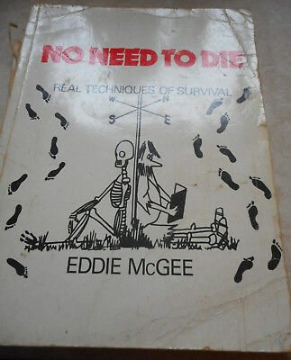book 'no need to die' by eddie mcgee paperback