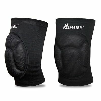 MAIBU Knee Pads (1 Pair) Pain Relief Thick Sponge Collision Avoidance Kneepad