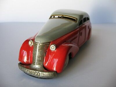 Schuco 1010 Blech Auto Limousine Made in US-Zone Germany tintoy