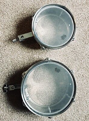 """DRUMS Percussion Mini Timbales 8"""" & 10"""""""