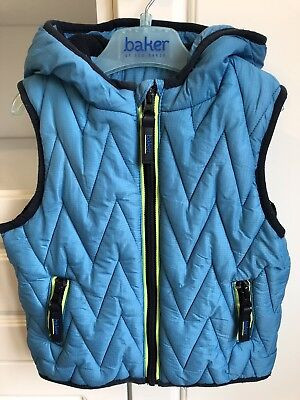 Ted Baker Baby Boys Padded Gilet Body Warmer, Size 18-24 Months