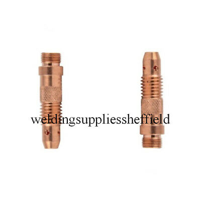 WP17 WP18 WP26 Collet Body Pack of 2 - 1mm 1.6mm 2.4mm 3.2mm Tig Welding
