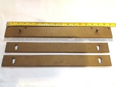 Orion Passap Knitting Machine Parts Heavy Cast On Comb With Weight 2.0Kg 5Mm