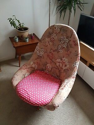 Vintage Retro Mid Century Egg Chair Greaves and Thomas