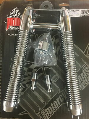 Frame Mount Chrome Billet Oil Cooler Most Harley Davidson Models EVO TC MU 89000