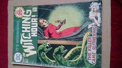 The Witching Hour #46 September 1974 VG