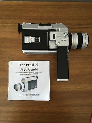 Canon 814 Super 8mm Camera - Refurbished by Pro8mm