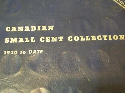 Partial Canadian Small Cent Set