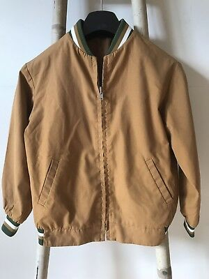 Vintage 60s Boys Jacket Blouson Terlenka Harrington 1960s Smart Junior MOD