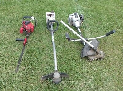 petrol strimmers X2 hedge trimmer parts project spares repairs reuse