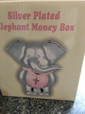 silver plated money box
