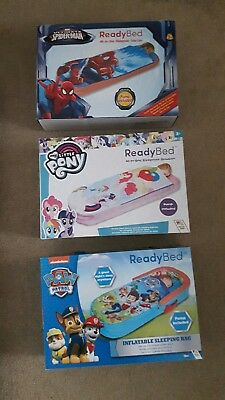 Brand New ReadyBed Spiderman / Paw Patrol / My Little Pony - inflatable airbed
