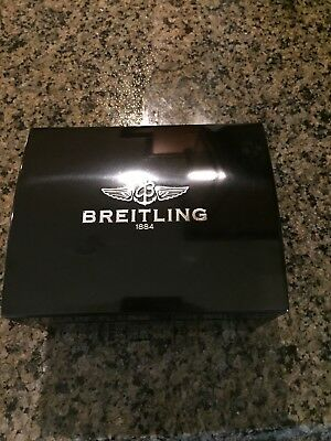 Breitling Watch Box Lacquer with leather watch case