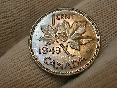 1949 Canadian Small Cent High Grade