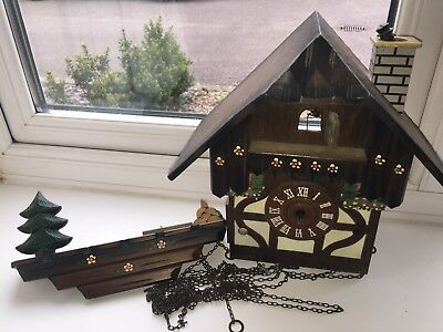 Cuckoo clock (For Parts) made in West Germany