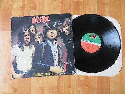 Ac/dc Lp Highway To Hell Sd 19244 / 1979