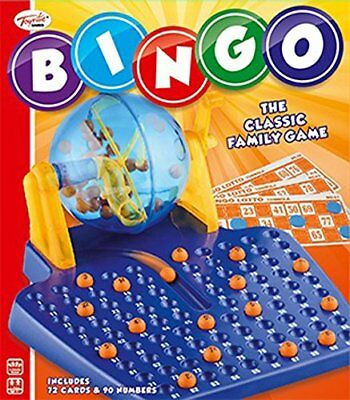 Toyrific Bingo Game Traditional Lottery Travel Party Family Fun Play Set Gift