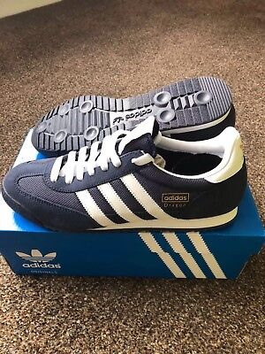 Mens Adidas Dragon Casual Trainers - Size 8